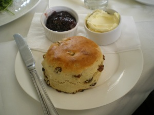 Obligatory cream tea